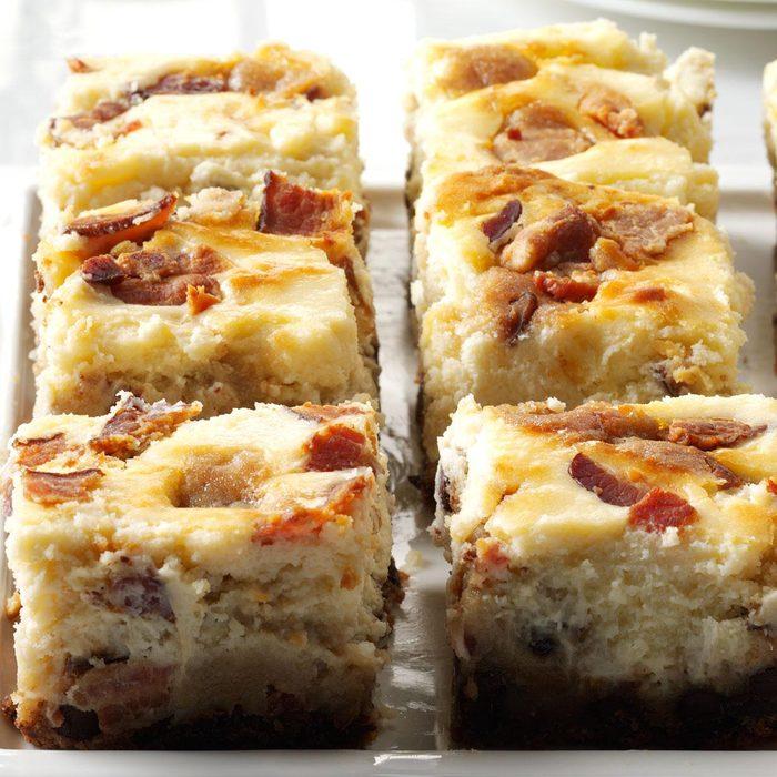 Bacon Chocolate Chip Cheesecake Blondies