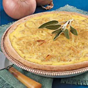 Contest-Winning Onion Pie
