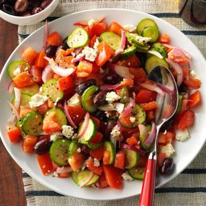 Dad's Greek Salad