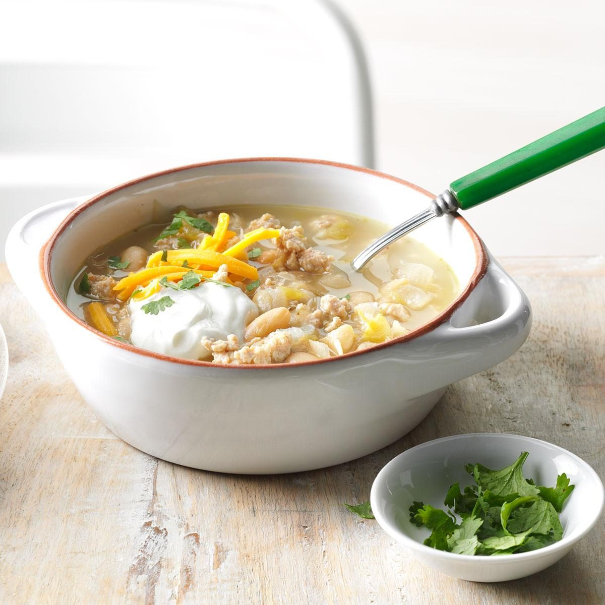 Saturday: Easy White Chicken Chili