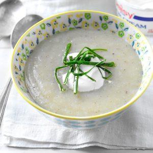 Loaded Potato-Leek Soup