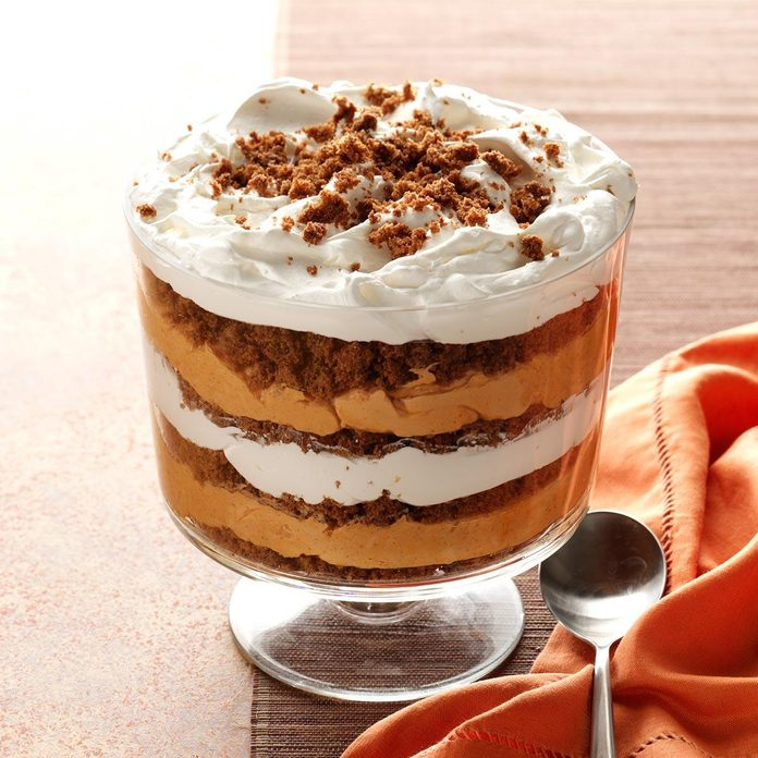 Missouri: Pumpkin-Butterscotch Gingerbread Trifle