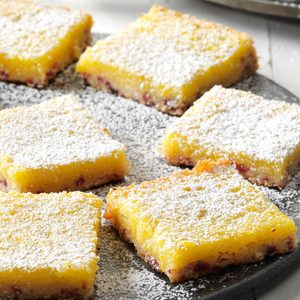 Cranberry Clementine Bars
