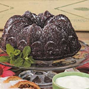 Guilt-Free Chocolate Cake
