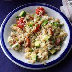 Avocado & Garbanzo Bean Quinoa Salad