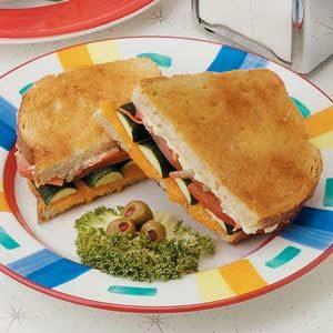 Sourdough Veggie Sandwiches