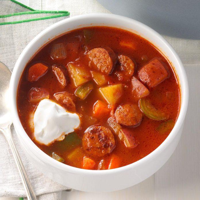 Andouille Sausage Soup