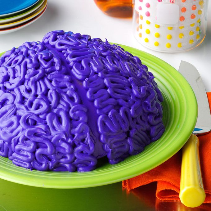 Spooky Snack: Brainy Cake