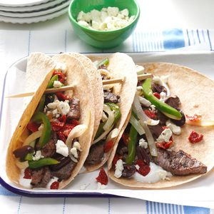 Feta Steak Tacos