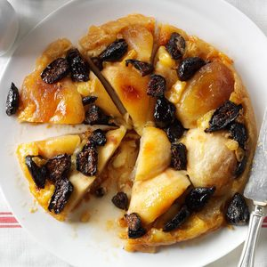 Figgy Apple Brie Tart