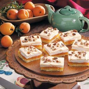 Apricot Meringue Bars