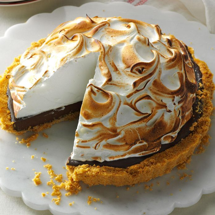 Chocolate S'mores Tart