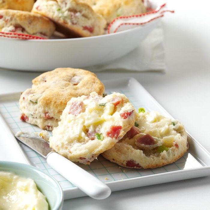 Ham & Green Onion Biscuits