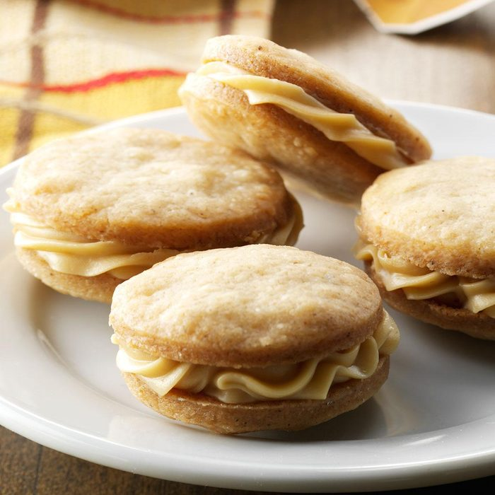 Chai Tea Sandwich Cookies