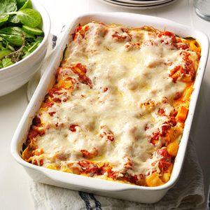 Butternut & Portobello Lasagna