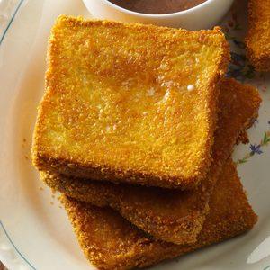 Cornflake-Coated Baked French Toast