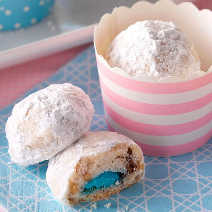 Snowball Surprise Cookies