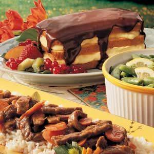 Easy Boston Cream Cake
