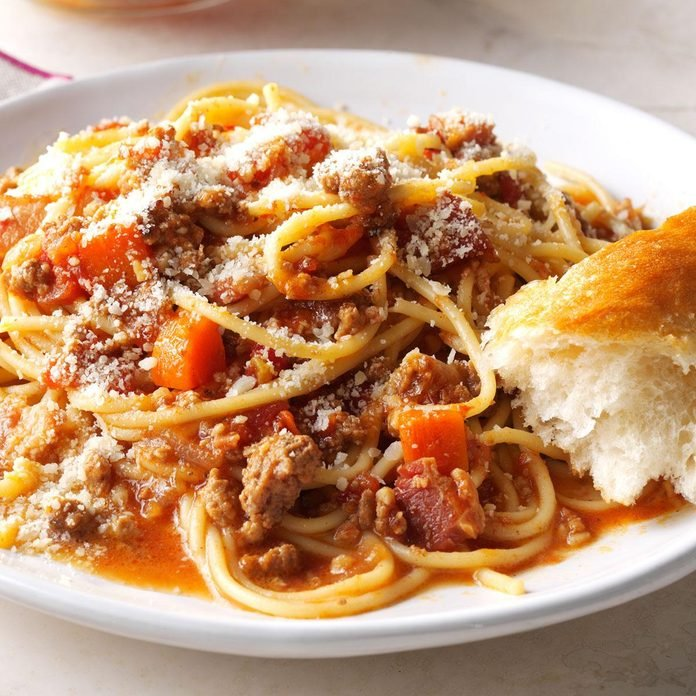 Bacon Bolognese