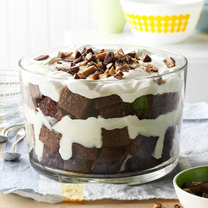 Toffee Brownie Trifle