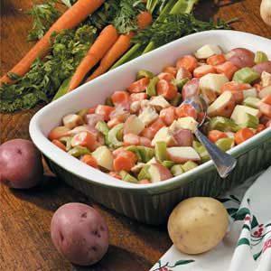 Vegetable Chicken Casserole