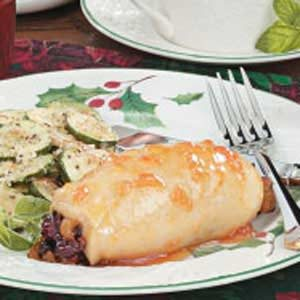 Fruit-Stuffed Chicken
