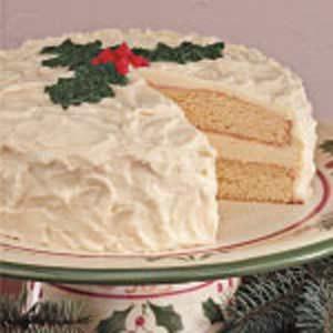 Contest-Winning Eggnog Cake