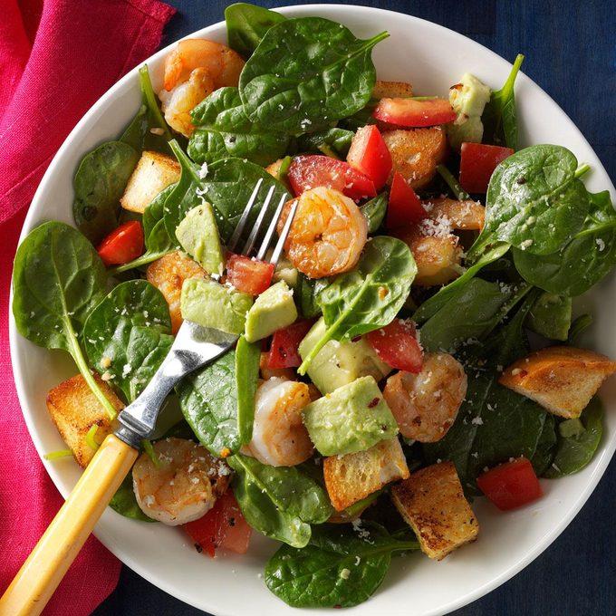 Shrimp Panzanella Salad