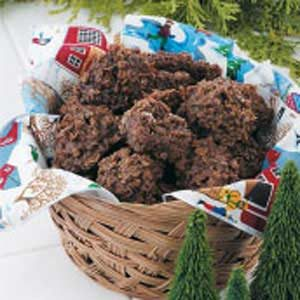 No-Bake Chocolate Oat Cookies