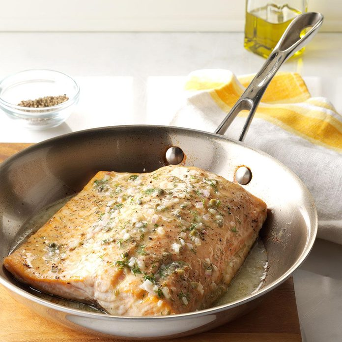 Friday: Oven-Roasted Salmon