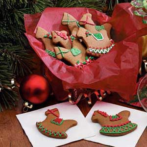Gingerbread Christmas Cutouts