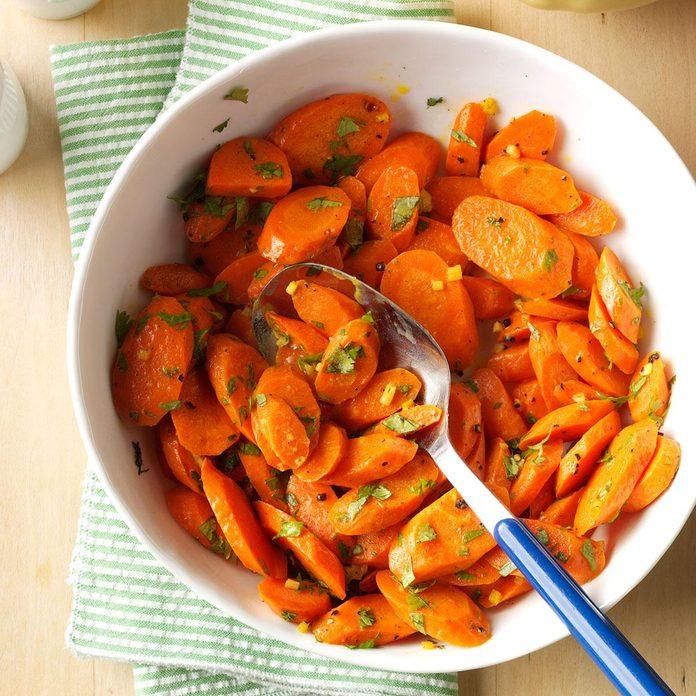 Cilantro Ginger Carrots