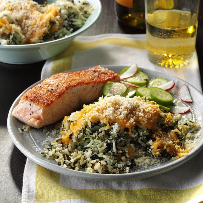 Slow-Cooker Spinach & Rice