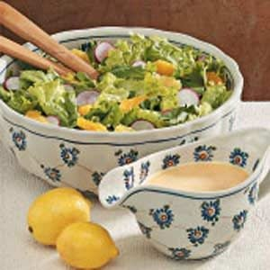 Tossed Salad with Citrus Dressing