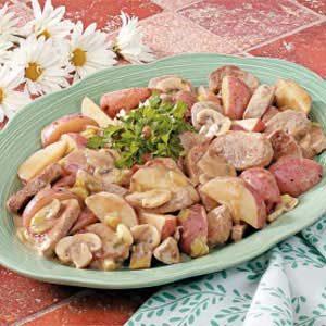 Potato Pork Skillet