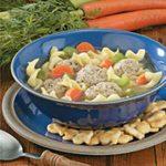 Contest-Winning Turkey Meatball Soup