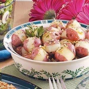 Garlic Thyme Potatoes