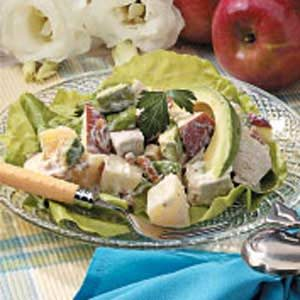 Fruity Chicken Salad for Two