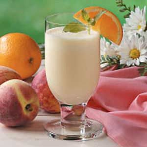 Peachy Orange Shakes