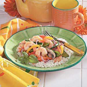 Shrimp Vegetable Stir-Fry
