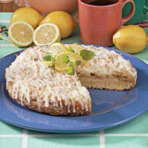 Lemon Curd Coffee Cake