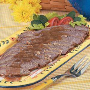Beef Brisket in Gravy
