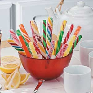 Sparkling Candy Swizzle Sticks