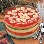 Six-Layer Gelatin Salad