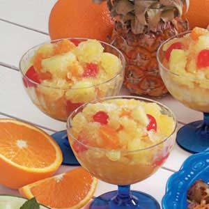 Fruit Slush Cups