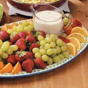 Creamy Orange Fruit Dip