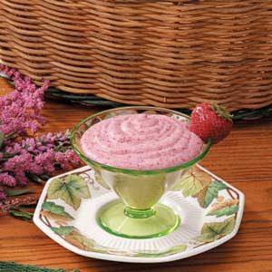 Chilled Strawberry Cream