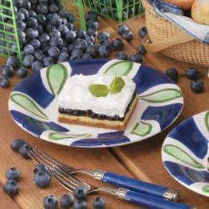 Blueberry Cream Dessert