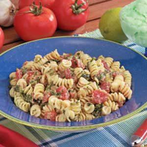 Tomato Spinach Spirals