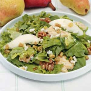 Chicken and Pear Tossed Salad